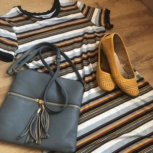 Women's striped dress